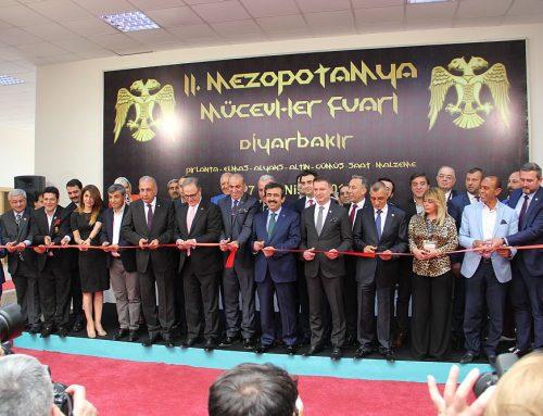 3. Diyarbakır Mezopotamya Mücevher ve Makine Fuarında olacağız